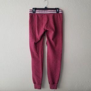 Aeropostale Pants - Maroon Joggers
